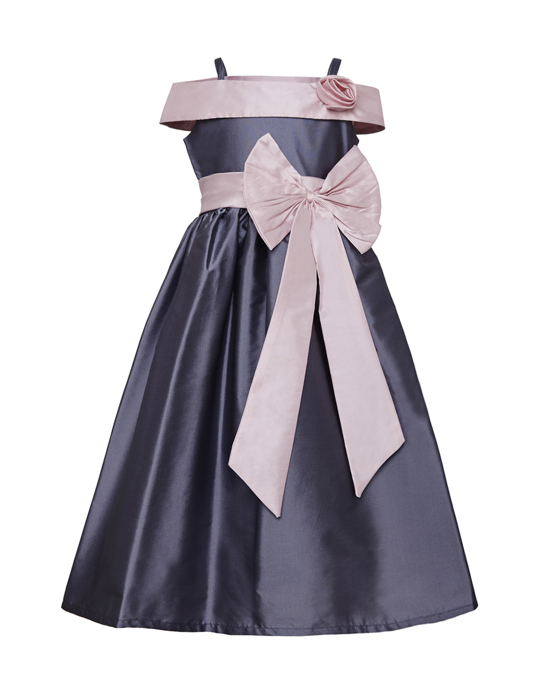 14ded618306b Sale! Home   Party Wear   Gowns   Lavender-Baby Pink Off-Shoulder Gown