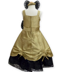 Golden Cowl Gown (Back)