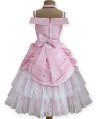 Pink Belle Gown (Back)