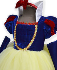 Snow White Gown (Side)