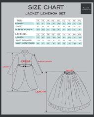 Jacket Lehenga Set