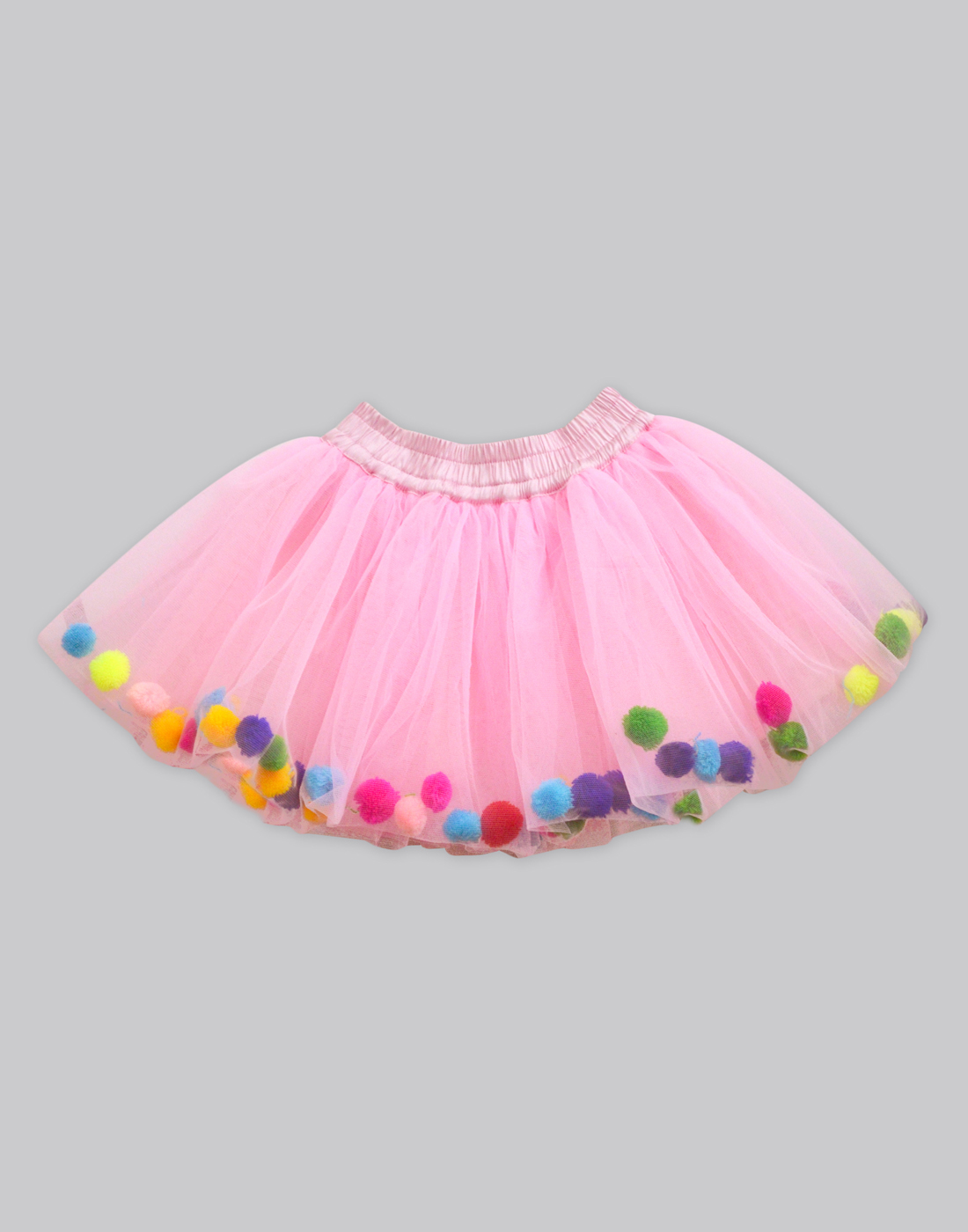 a8f8826d4 Sale! Home / Skirts / Baby Pink Tulle Pom-Pom Skirt