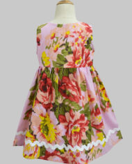 floral ardour pink penelope dress-2