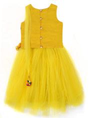 paisely passion yellow Three Piece Lehenga Set (2)