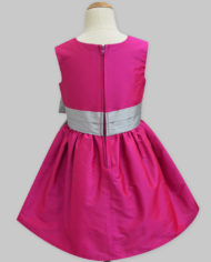 fuchsia silver penelope dress-2