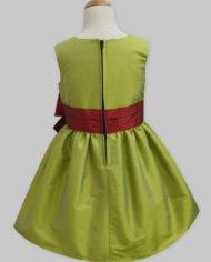 lime green – maroon penelope dress-2