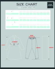 collar kurta set